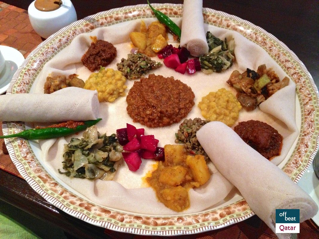 Masob ethiopian restaurant doha eat like ethiopians do for Authentic ethiopian cuisine